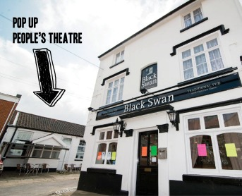 North Walsham Pop Up Peoples Theatre exterior