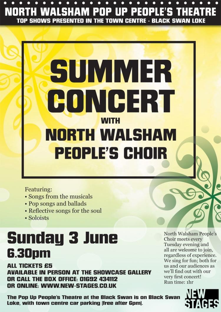 Summer Concert poster