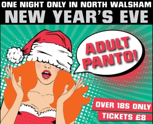 Adult Panto 2018 lock up