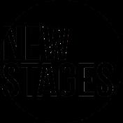 New Stages logo black Vector copy transparent text