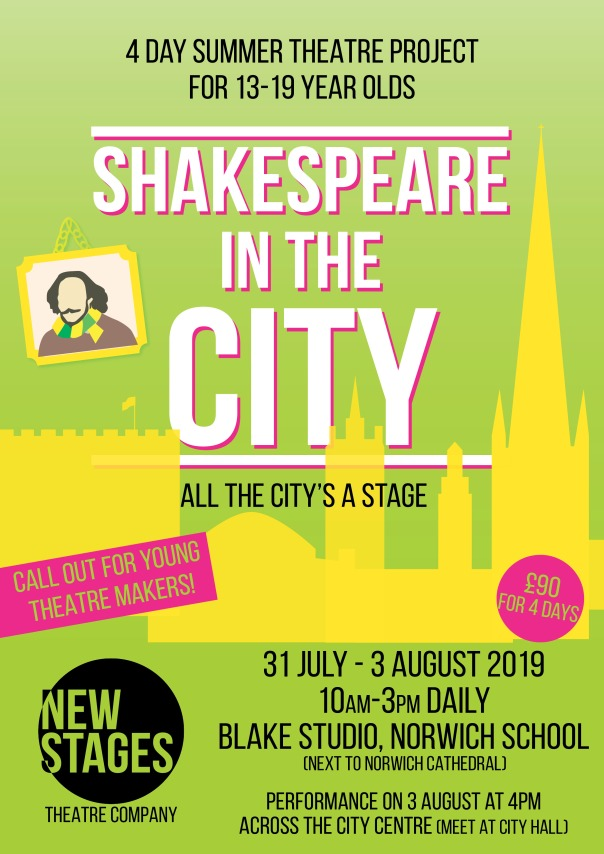 Shakespeare in the City poster