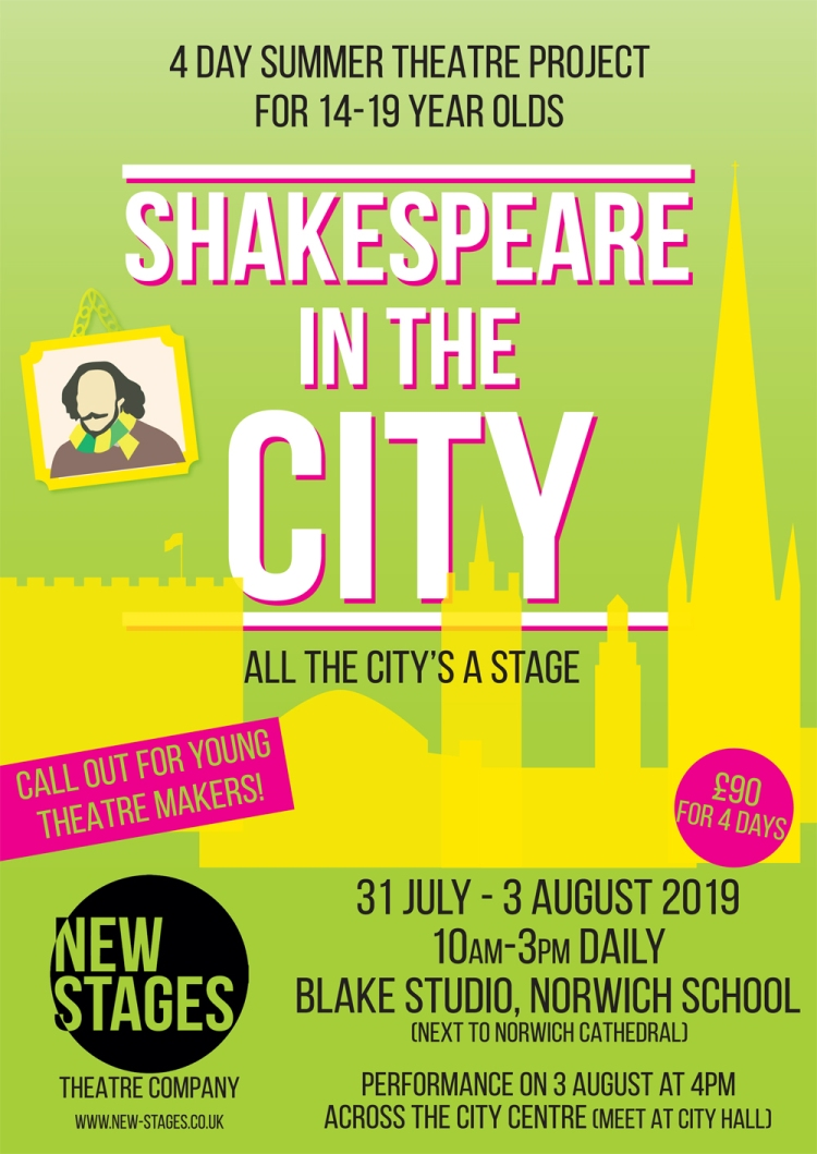 Shakespeare in the City poster OUTLINED.indd
